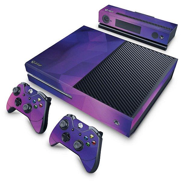 Xbox One Fat Skin - Abstrata #1