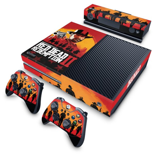 Xbox One Fat Skin - Red Dead Redemption 2