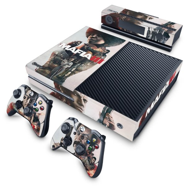 Xbox One Fat Skin - Mafia 3