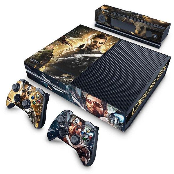 Xbox One Fat Skin - Deus Ex: Mankind Divided