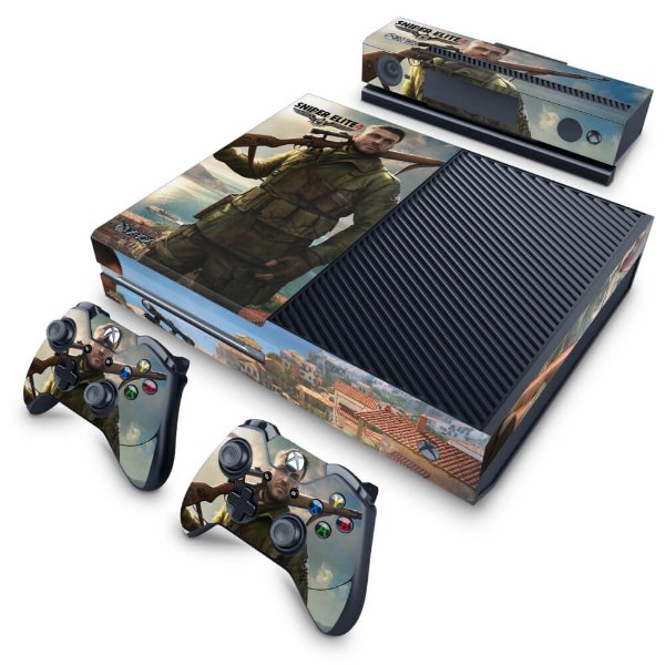 Xbox One Fat Skin - Sniper Elite 4