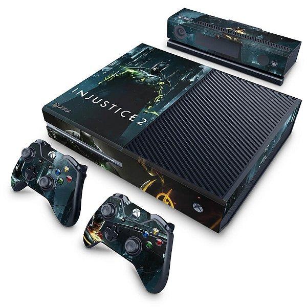Xbox One Fat Skin - Injustice 2