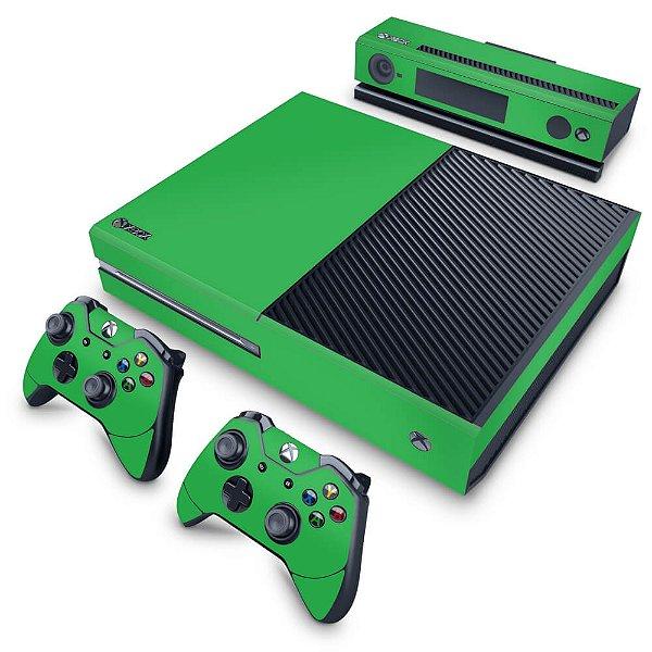 Xbox One Fat Skin - Verde Grama