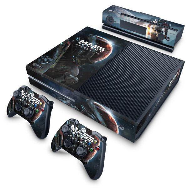 Xbox One Fat Skin - Mass Effect: Andromeda