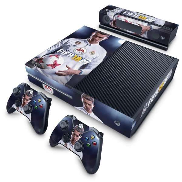 Xbox One Fat Skin - FIFA 18