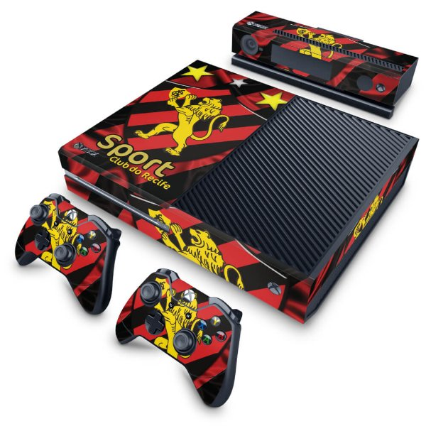Xbox One Fat Skin - Sport Club do Recife