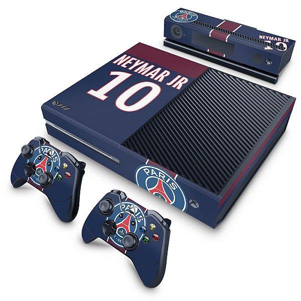 Xbox One Fat Skin - Paris Saint Germain Neymar Jr PSG