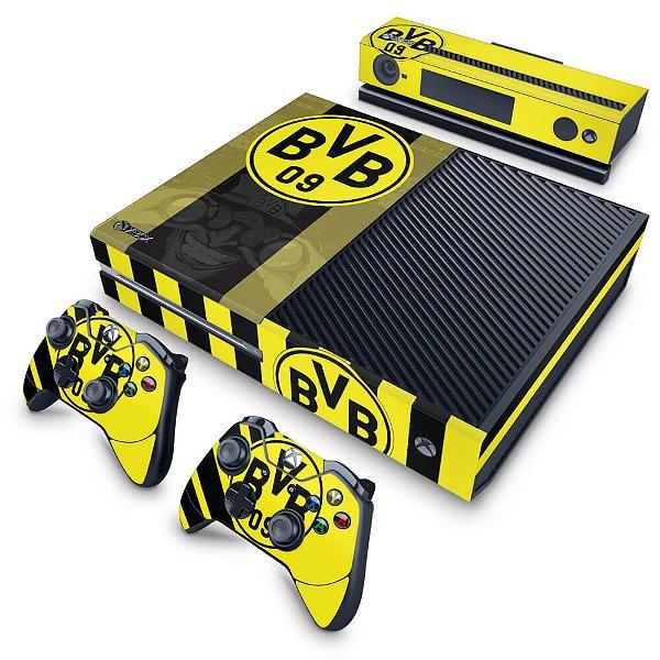 Xbox One Fat Skin - Borussia Dortmund BVB 09