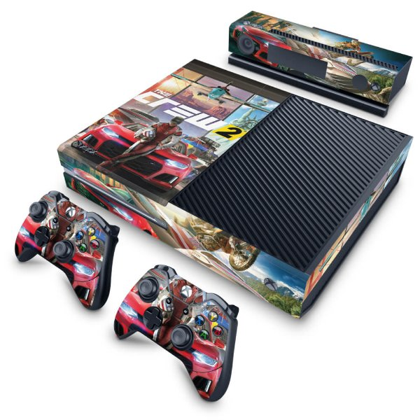 Xbox One Fat Skin - The Crew 2