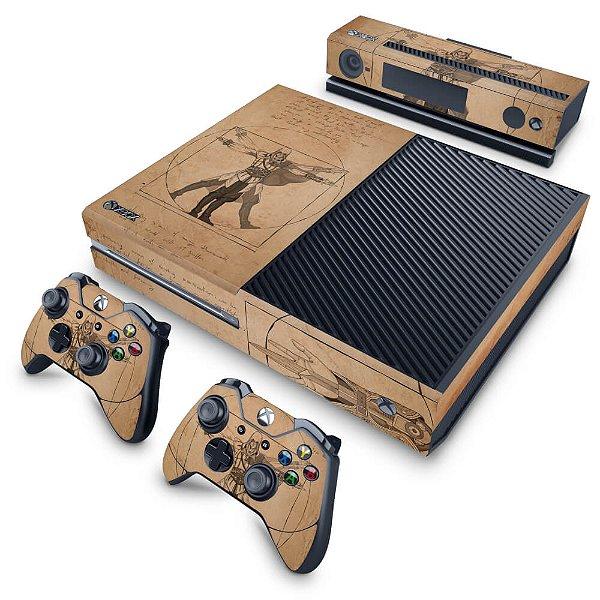 Xbox One Fat Skin - Assassin's Creed Vitruviano