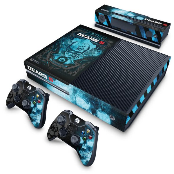 Xbox One Fat Skin - Gears 5