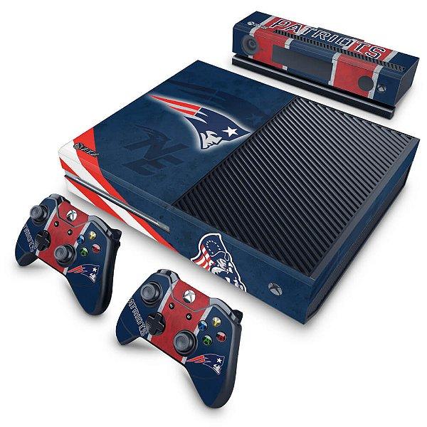 Xbox One Fat Skin - New England Patriots NFL