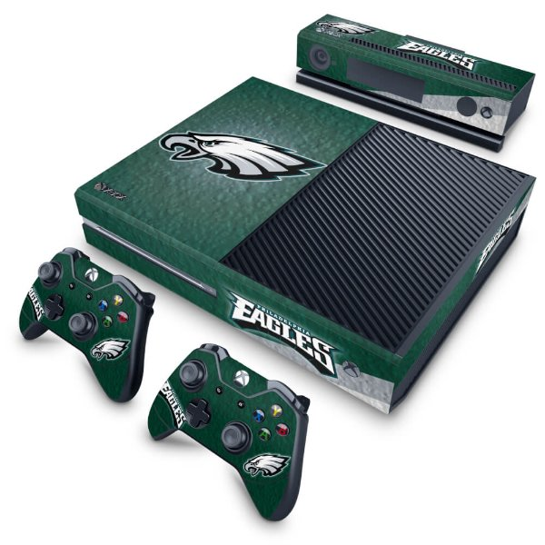 Xbox One Fat Skin - Philadelphia Eagles NFL