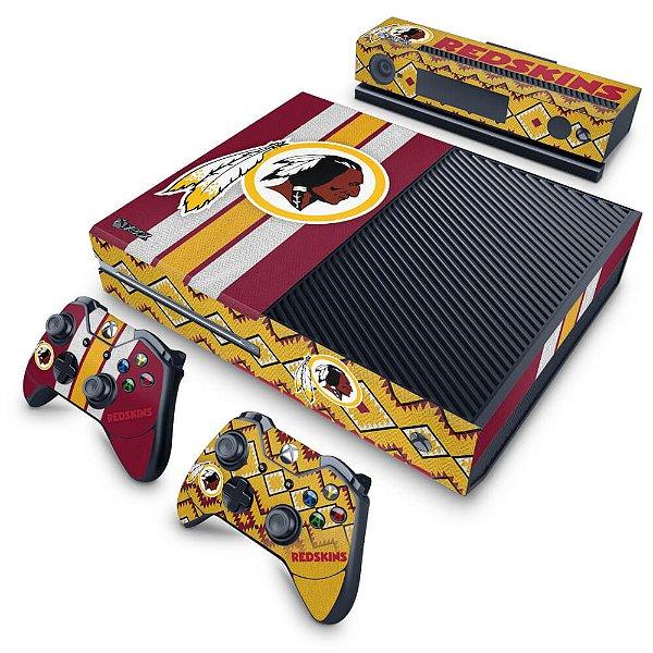 Xbox One Fat Skin - Washington Redskins NFL