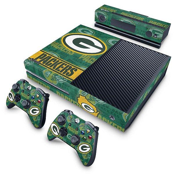 Xbox One Fat Skin - Green Bay Packers NFL