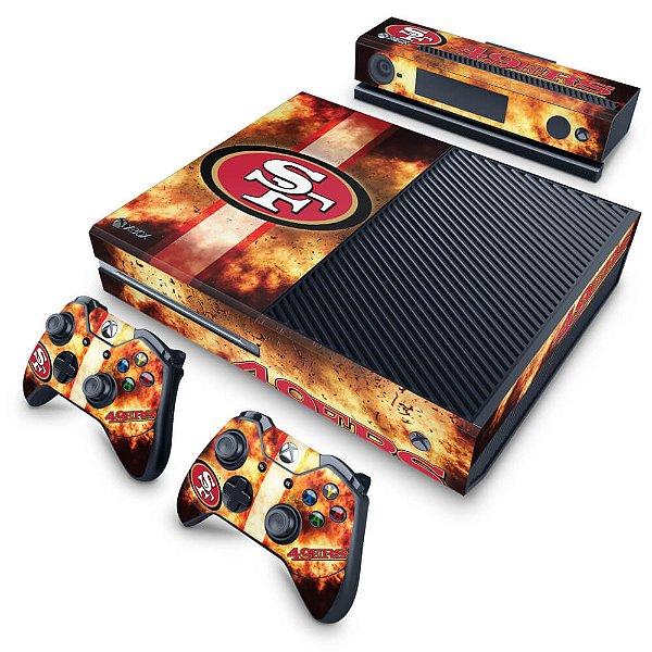 Xbox One Fat Skin - San Francisco 49ers - NFL