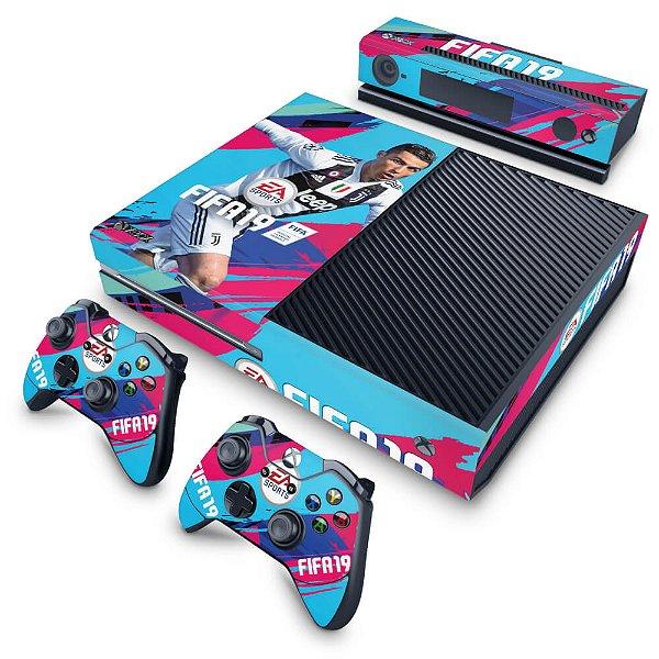 Xbox One Fat Skin - FIFA 19