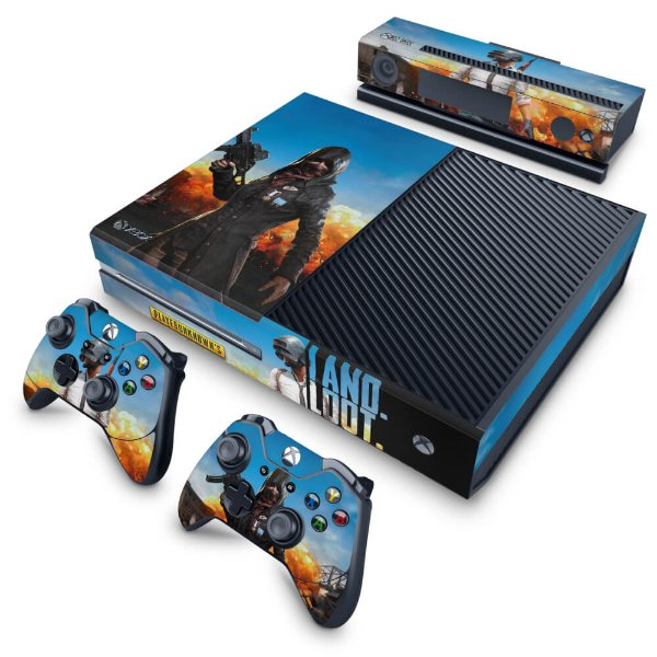 Xbox One Fat Skin - Players Unknown Battlegrounds PUBG