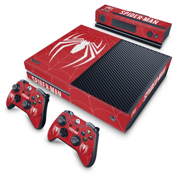 Xbox One Fat Skin - Spider-man Bundle