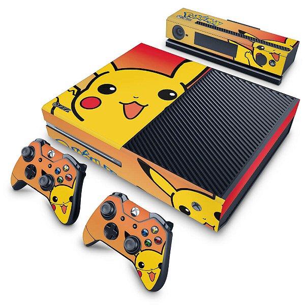 Xbox One Fat Skin - Pokemon Pikachu