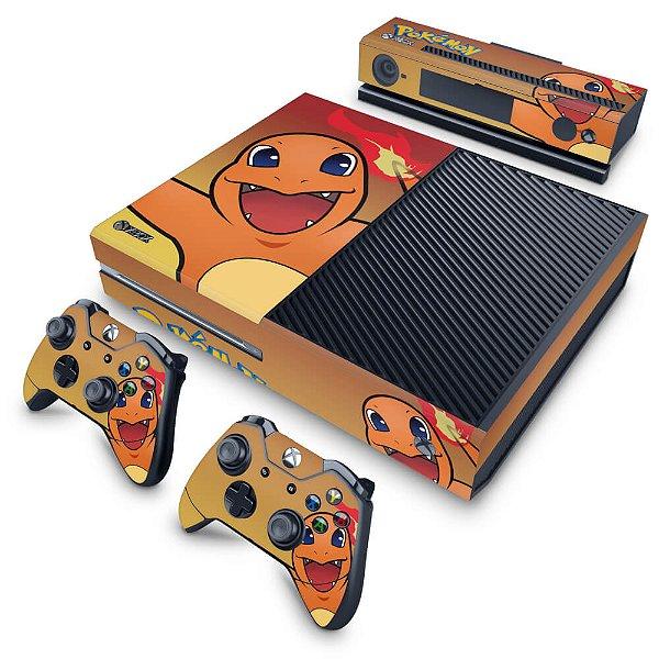 Xbox One Fat Skin - Pokemon Charmander