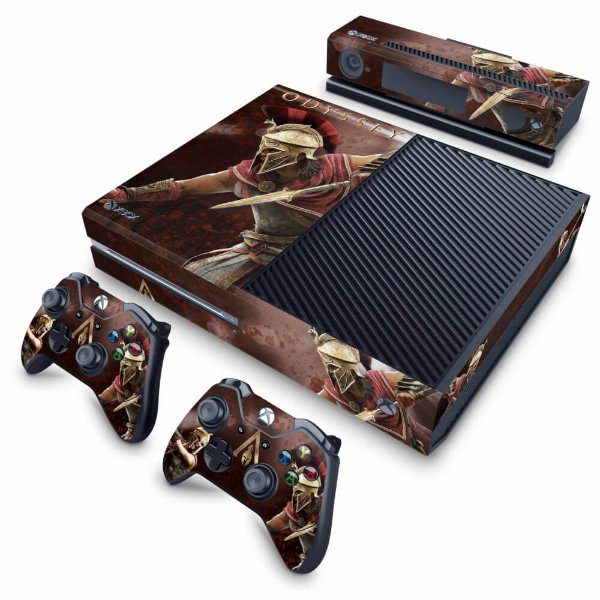 Xbox One Fat Skin - Assassins Creed Odyssey