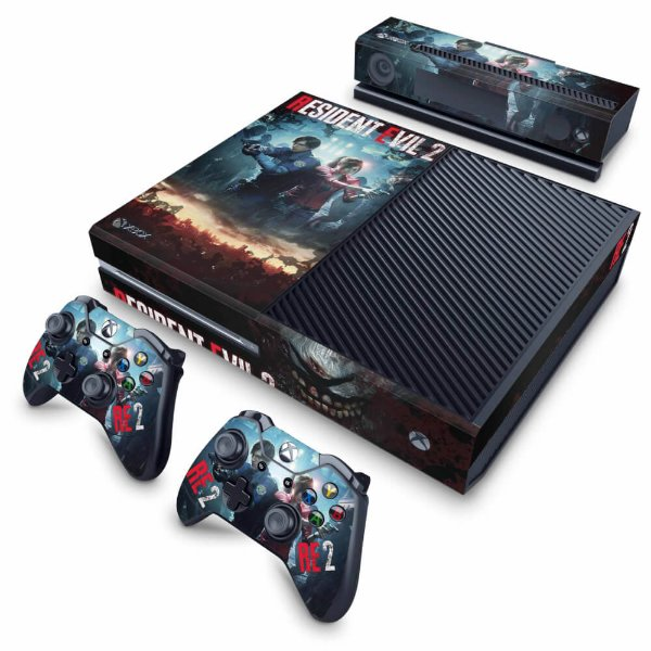 Xbox One Fat Skin - Resident Evil 2 Remake