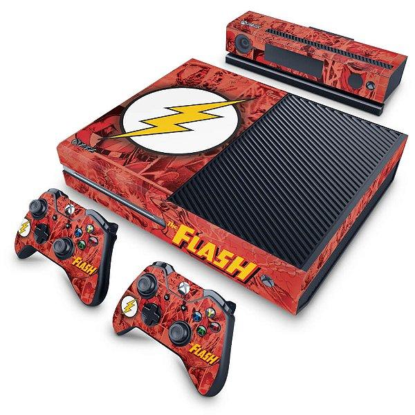 Xbox One Fat Skin - The Flash Comics