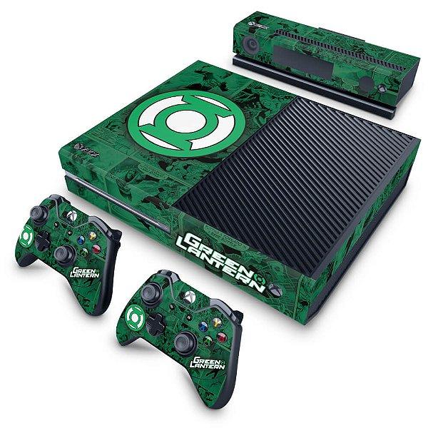 Xbox One Fat Skin - Lanterna Verde Comics
