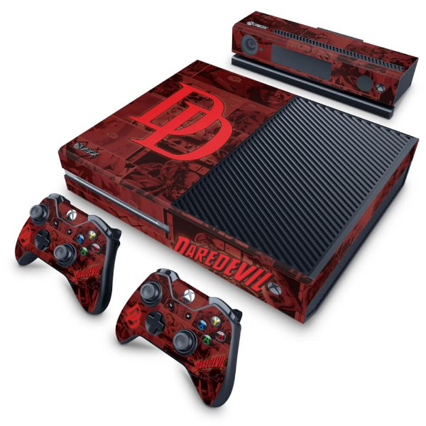 Xbox One Fat Skin - Daredevil Demolidor Comics