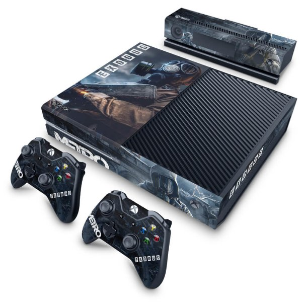 Xbox One Fat Skin - Metro Exodus