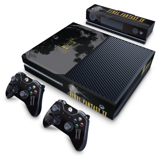 Xbox One Fat Skin - Final Fantasy XV Bundle