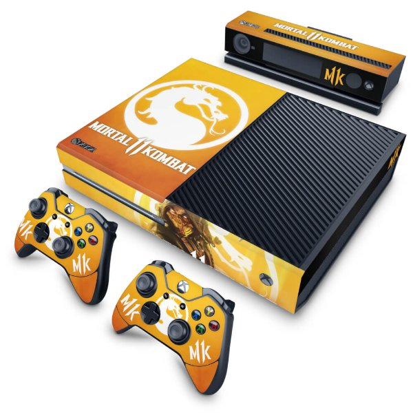Xbox One Fat Skin - Mortal Kombat 11