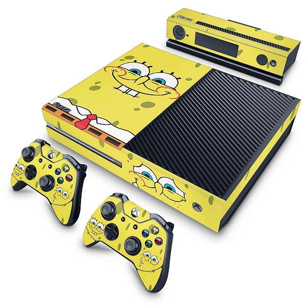Xbox One Fat Skin - Bob Esponja