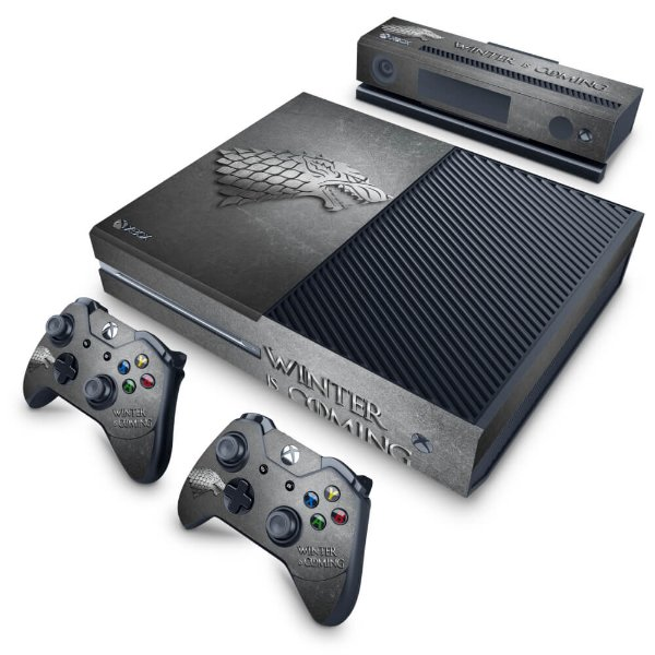 Xbox One Fat Skin - Game Of Thrones Stark