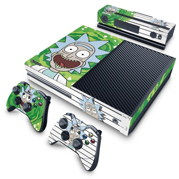 Xbox One Fat Skin - Rick Rick and Morty