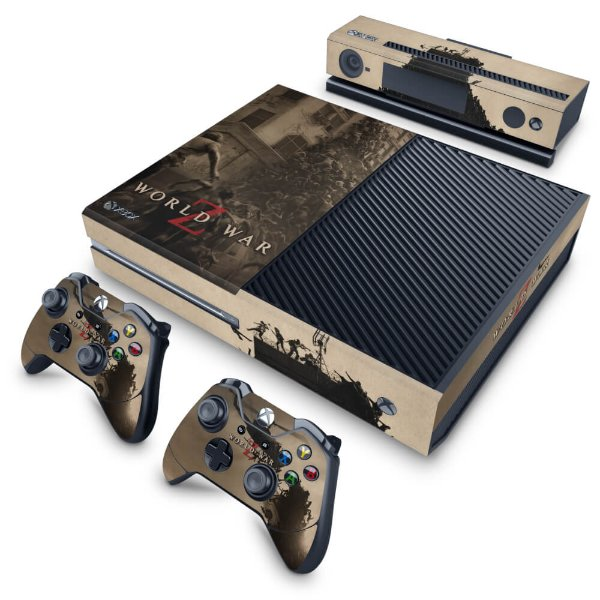 Xbox One Fat Skin - World War Z