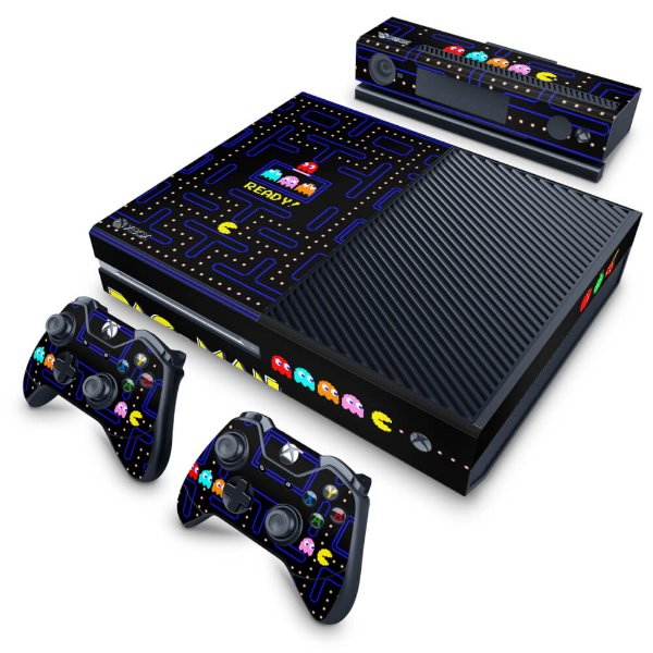 Xbox One Fat Skin - Pac Man