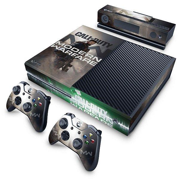 Xbox One Fat Skin - Call Of Duty Modern Warfare
