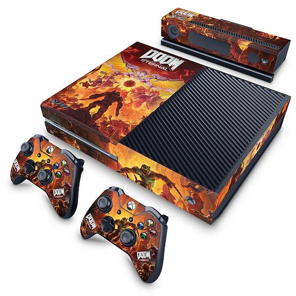Xbox One Fat Skin - Doom Eternal