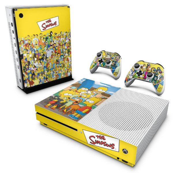 Xbox One Slim Skin - The Simpsons