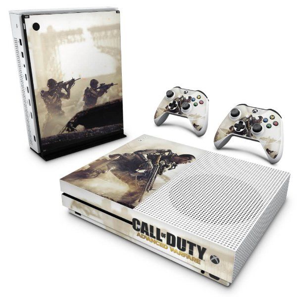 Xbox One Slim Skin - Call of Duty Advanced Warfare