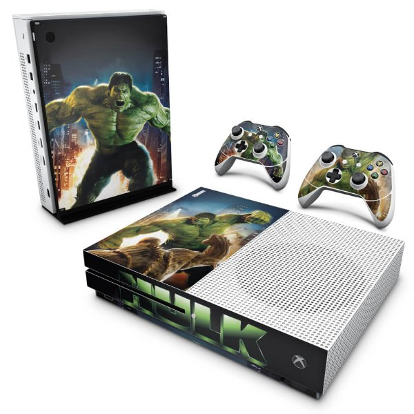 Xbox One Slim Skin - Hulk