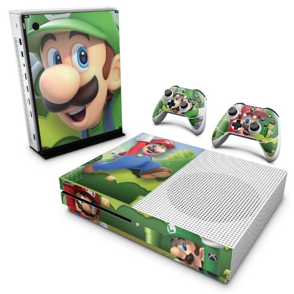 Xbox One Slim Skin - Super Mario Bros