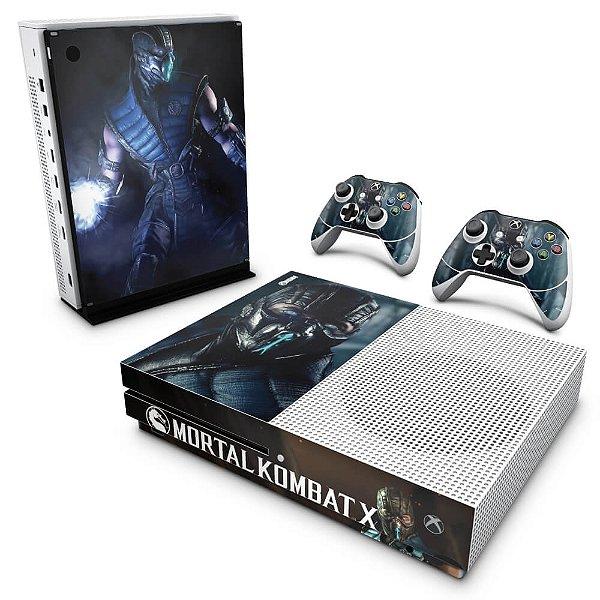 Xbox One Slim Skin - Mortal Kombat X - Subzero
