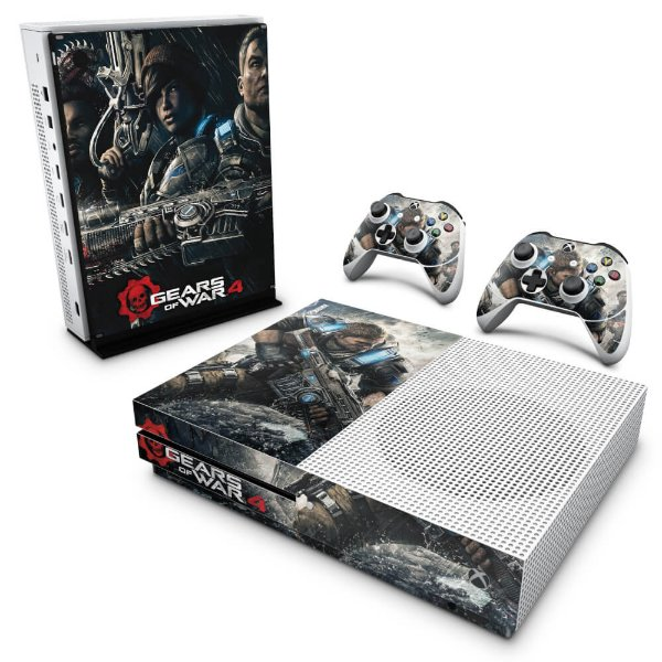Xbox One Slim Skin - Gears of War 4