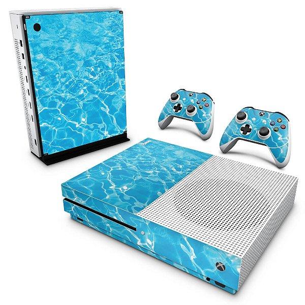 Xbox One Slim Skin - Aquático Água