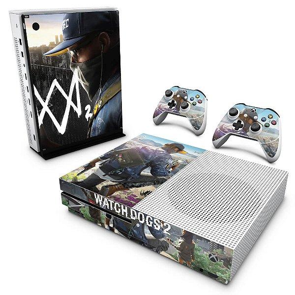 Xbox One Slim Skin - Watch Dogs 2