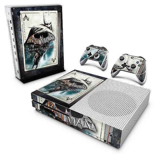 Xbox One Slim Skin - Batman Return to Arkham
