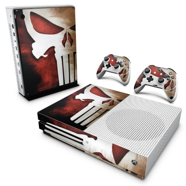 Xbox One Slim Skin - The Punisher Justiceiro